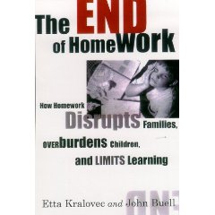 the end of homework by etta kralovec and john buell