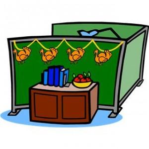 teacher desk thanksgiving