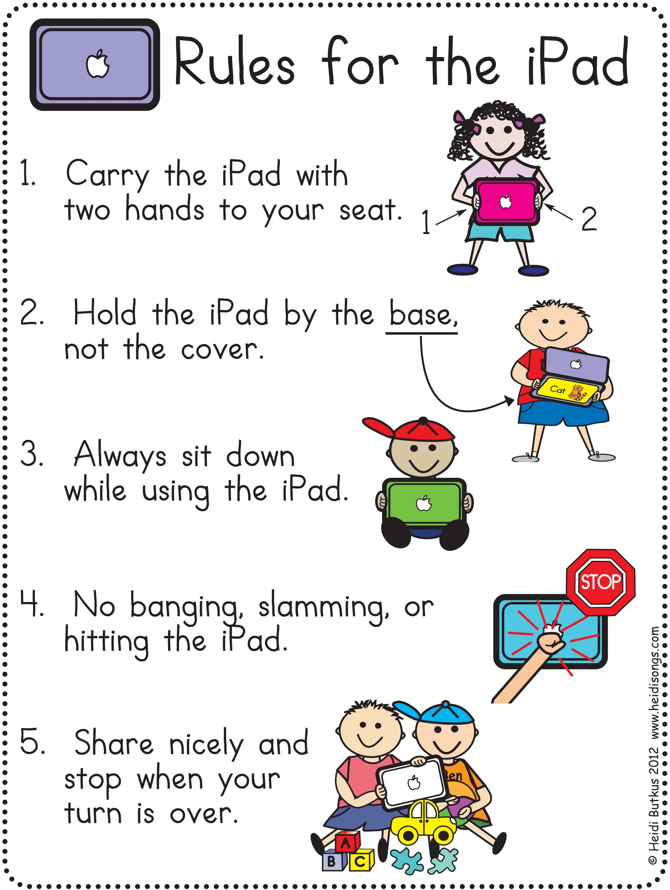 Gazette u00bb Tips for the One iPad Classroom