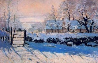 The Magpie by Monet
