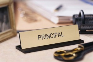 Principal Name Plaque Just B Cause