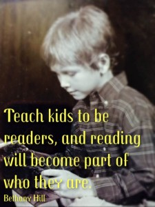 Teach kids to be readers